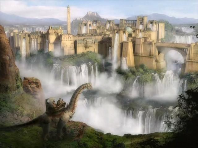 ��������� / Dinotopia (2002) DVDRip